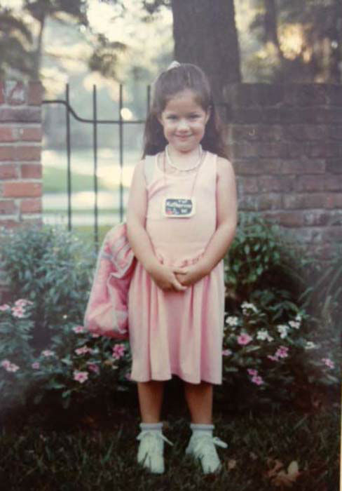 <div class='meta'><div class='origin-logo' data-origin='none'></div><span class='caption-text' data-credit='KTRK Photo'>Katherine Whaley in kindergarten!</span></div>