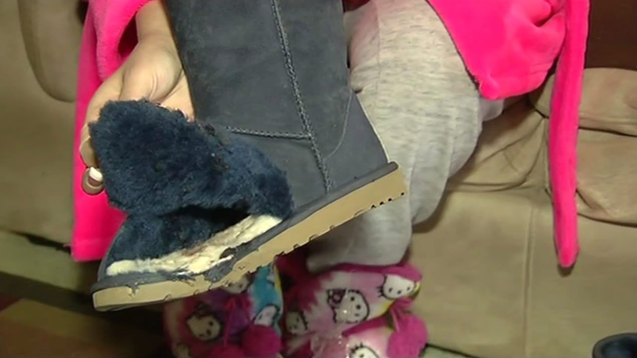 Uggs may have saved teen's foot from