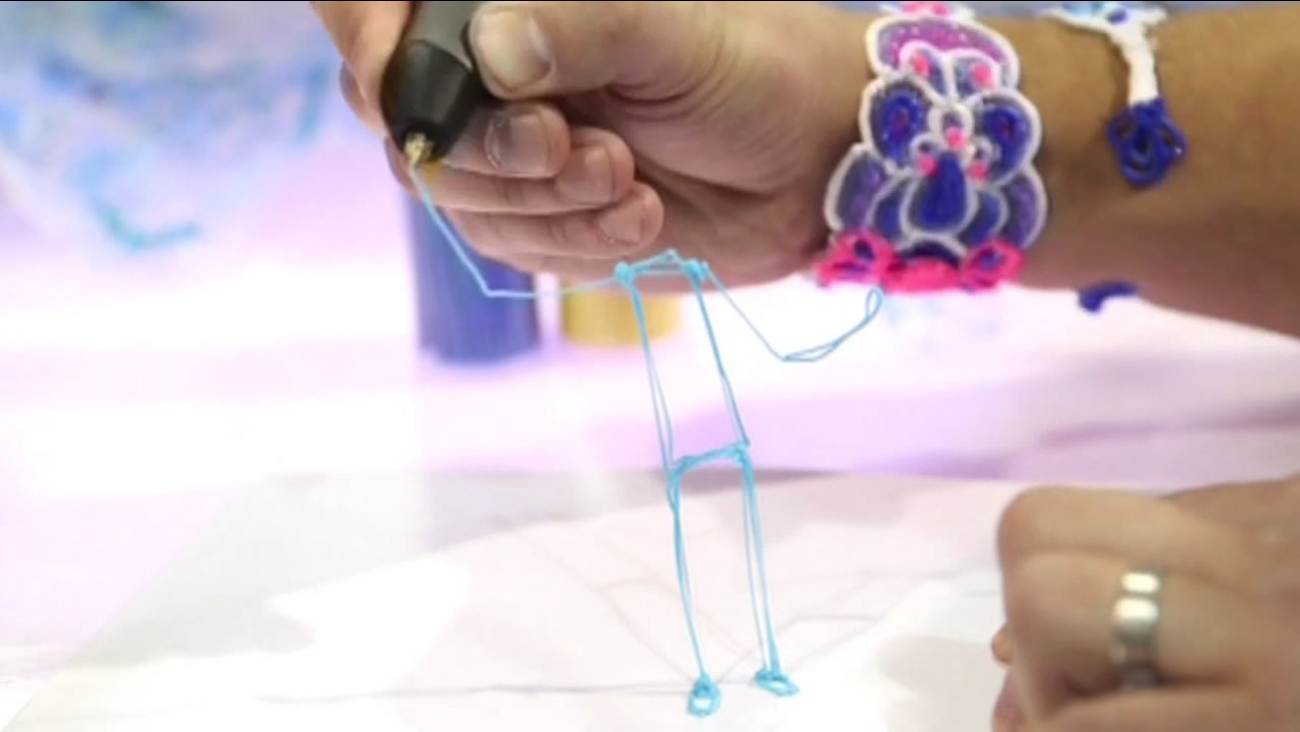 The 3Doodler is the world's first ever 3D pen.