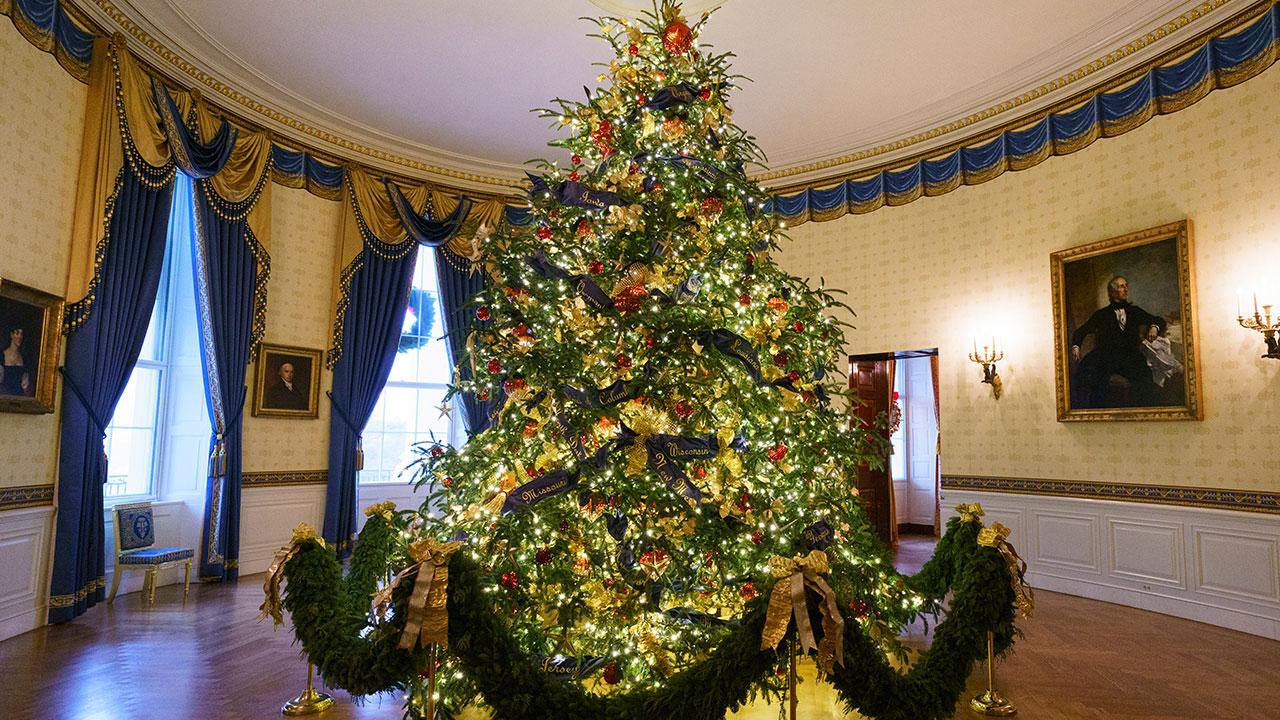 Photos White House Christmas Decor Shines With The Spirit Of Patriotism 6abc
