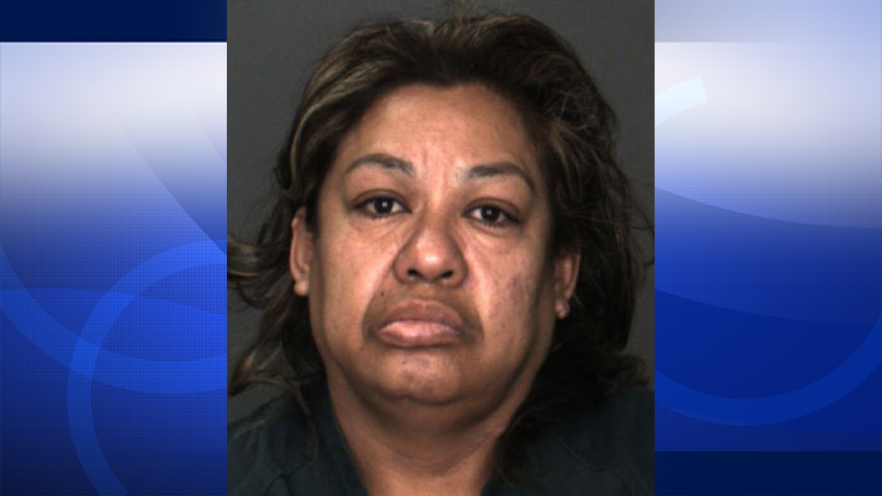 Martina Zacarias, 47, of Fontana, is shown in her mug shot. She was arrested for the sexual abuse of a minor.