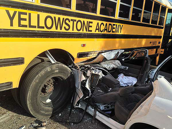"""<div class=""""meta image-caption""""><div class=""""origin-logo origin-image """"><span></span></div><span class=""""caption-text"""">Police are investigating an accident involving a school bus and a car (KTRK Photo)</span></div>"""