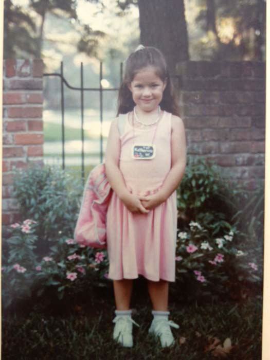 <div class='meta'><div class='origin-logo' data-origin='none'></div><span class='caption-text' data-credit='KTRK Photo'>Katherine Whaley as a kindergartener</span></div>