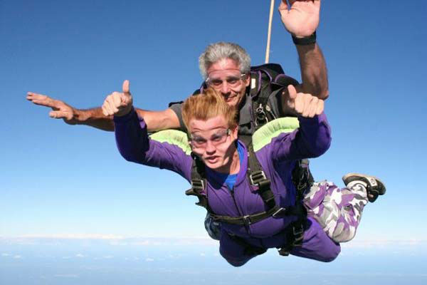 <div class='meta'><div class='origin-logo' data-origin='none'></div><span class='caption-text' data-credit='KTRK Photo'>Steve Campion was a freshman in college when he decided to tackle an item on his bucket list - skydiving!</span></div>