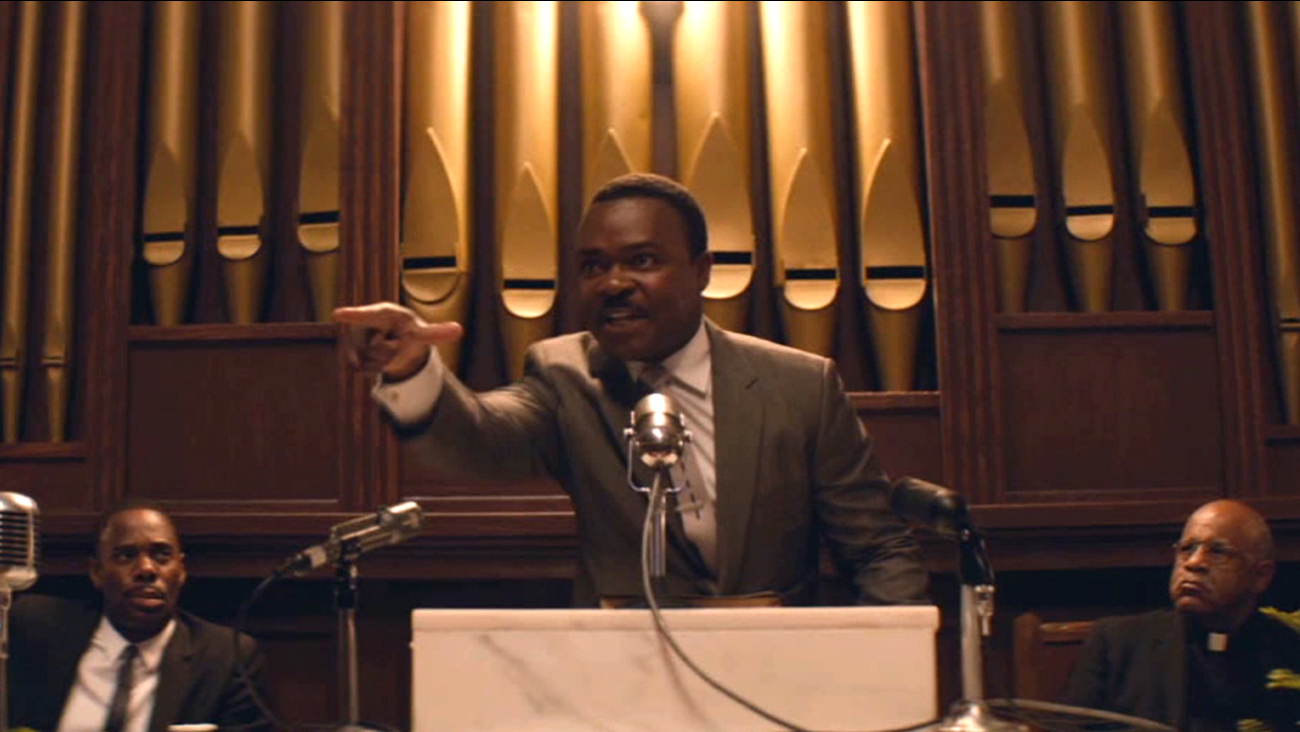 David Oyelowo portrays Martin Luther King Jr. in the Oscar-nominated film 'Selma.'