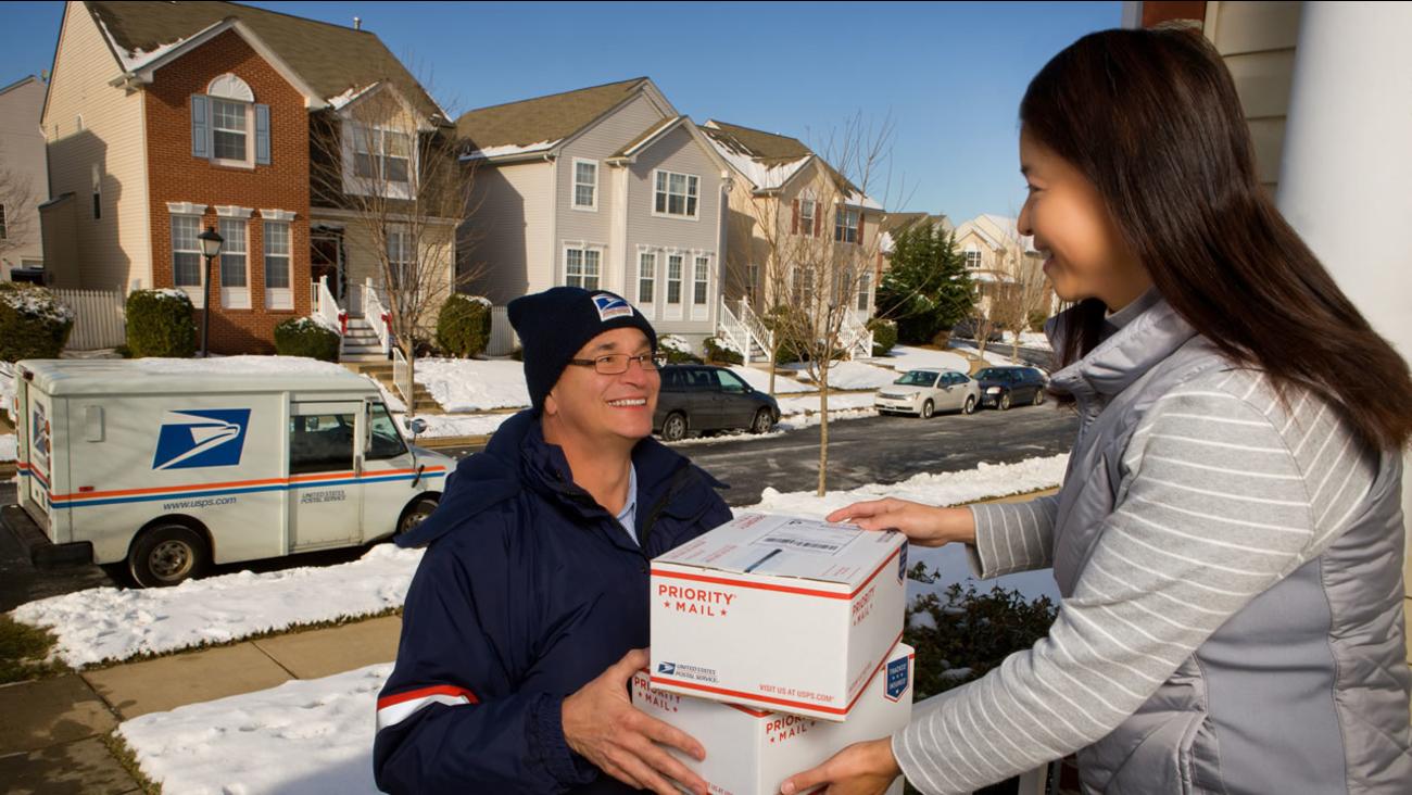 U.S. Postal Service letter carrier