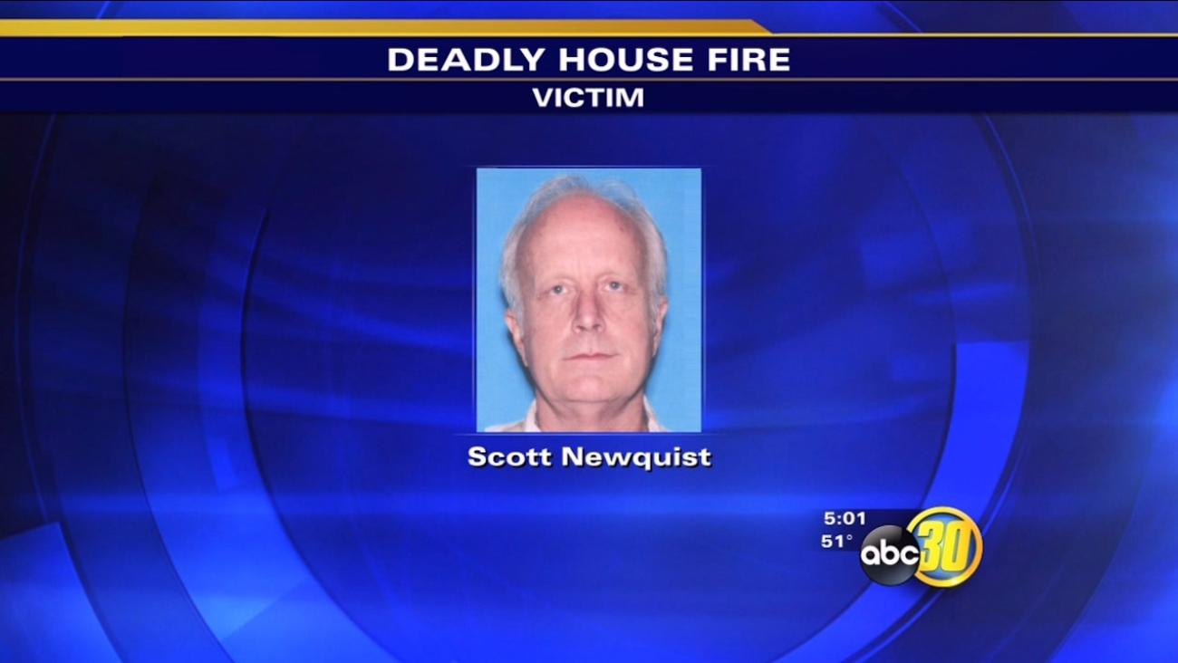 Man found dead inside burned home identified as Scott Newquist