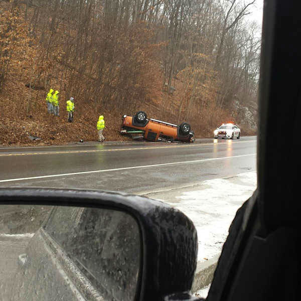 "<div class=""meta image-caption""><div class=""origin-logo origin-image ""><span></span></div><span class=""caption-text"">Freezing rain caused numerous accidents in the Tri-state area Sunday morning. (Courtesy: Instagram/@dlpivmusic)</span></div>"