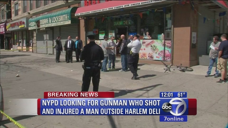 Search is on for shooter in Harlem