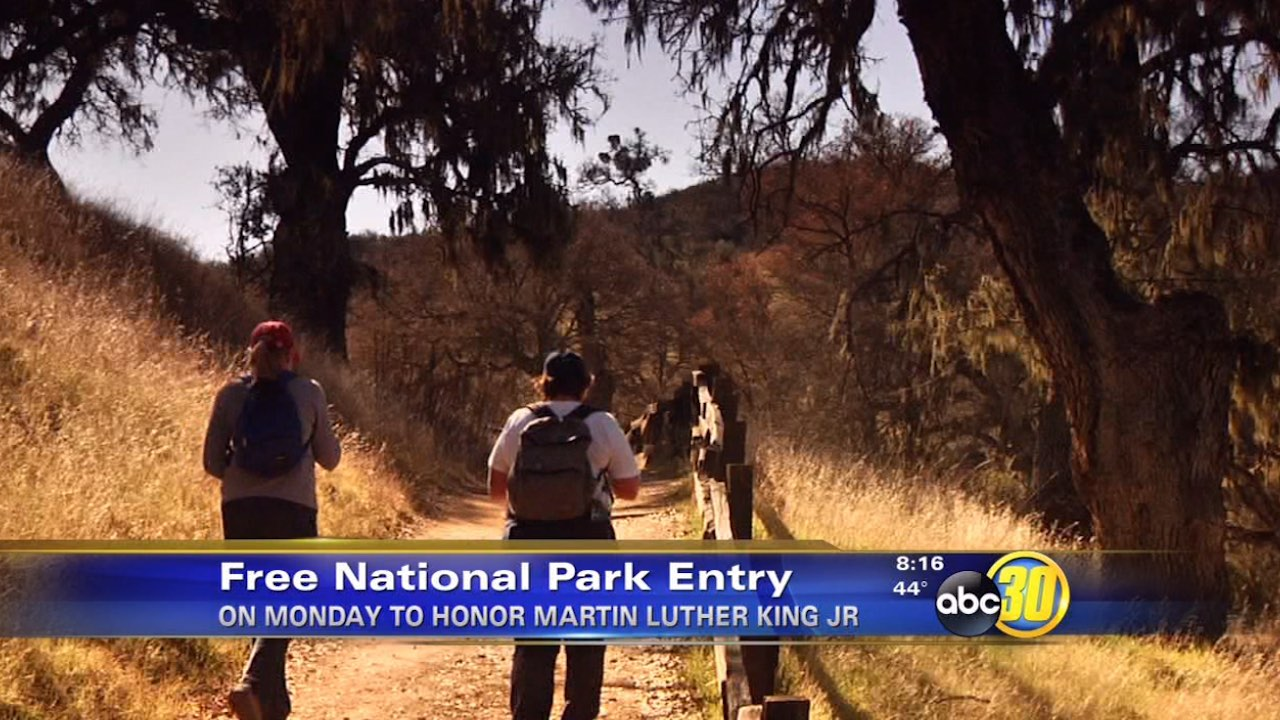 National parks waive entrance fees on MLK Day