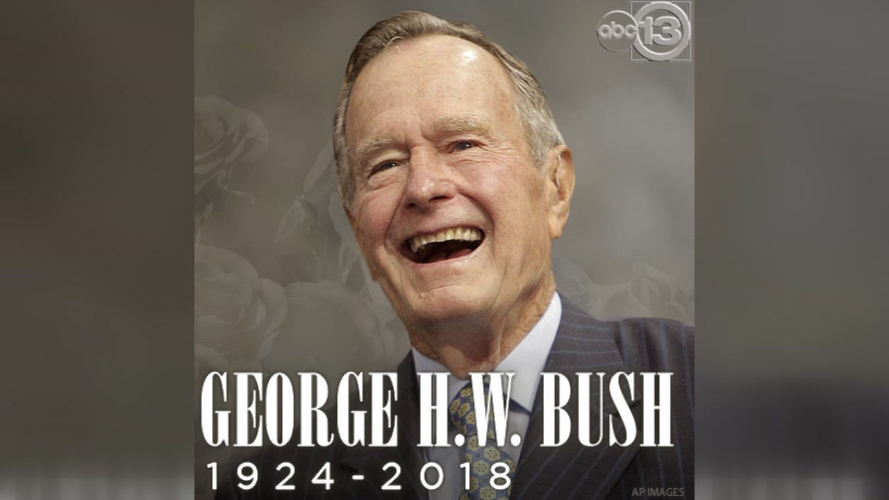 Notable Americans Pay Respects To Pres George H W Bush On Social