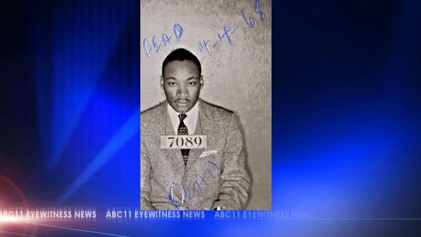 "<div class=""meta image-caption""><div class=""origin-logo origin-image ""><span></span></div><span class=""caption-text"">A Montgomery Sheriff's Department booking photo of The Rev. Martin Luther King Jr. taken Feb 22, 1956 (AP)</span></div>"