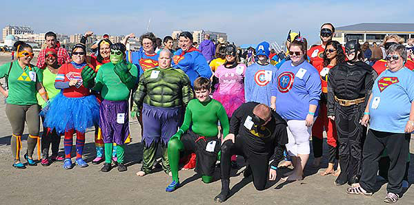 <div class='meta'><div class='origin-logo' data-origin='none'></div><span class='caption-text' data-credit='ABC13/Gina Larson'>Hundreds came out to 'freeze the day' in the Polar Plunge to benefit Special Olympics Texas at Galveston's Stewart Beach on Saturday, January 17, 2015.</span></div>