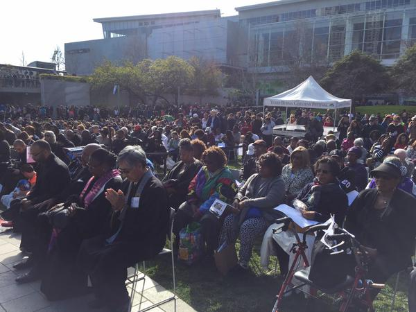 "<div class=""meta image-caption""><div class=""origin-logo origin-image ""><span></span></div><span class=""caption-text"">People gathered  Yerba Buena Park in San Francisco to celebrate ""The Dream"" on Monday, Jan. 19, 2015. (@LyanneMelendez)</span></div>"