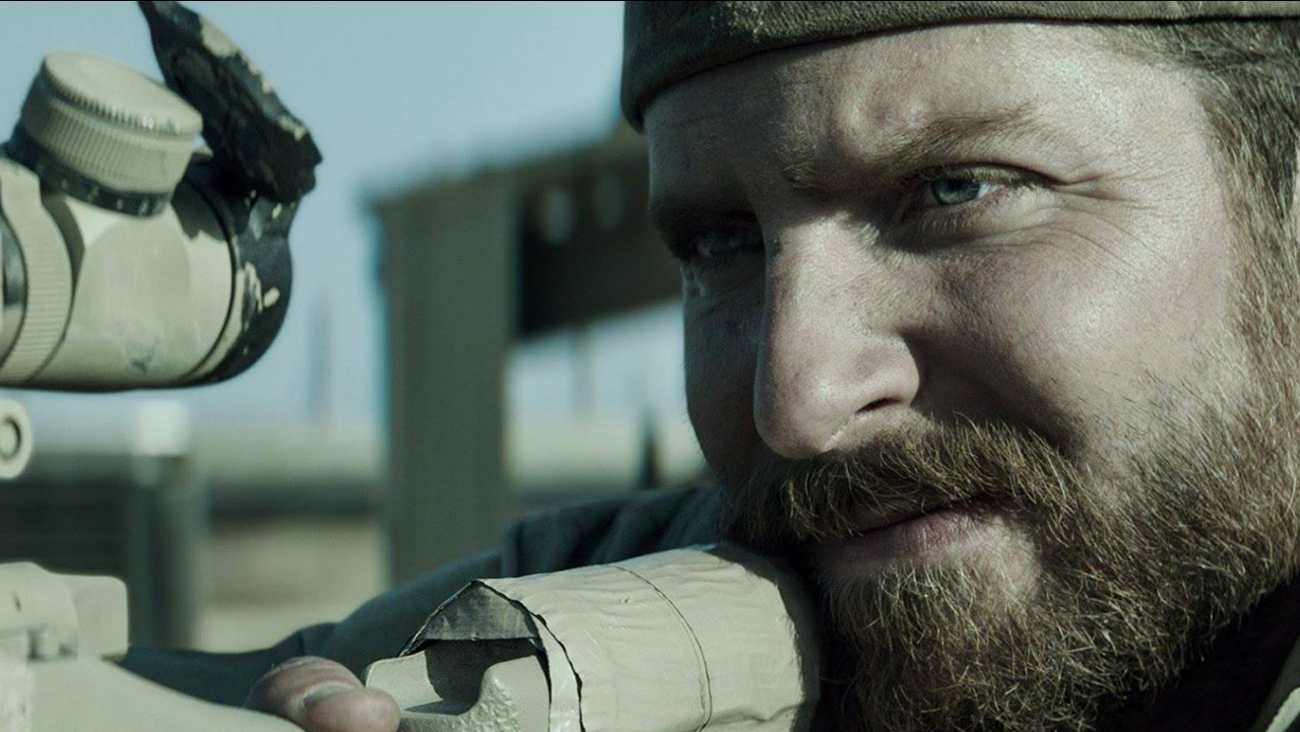 Bradley Cooper appears in a scene from 'American Sniper.'