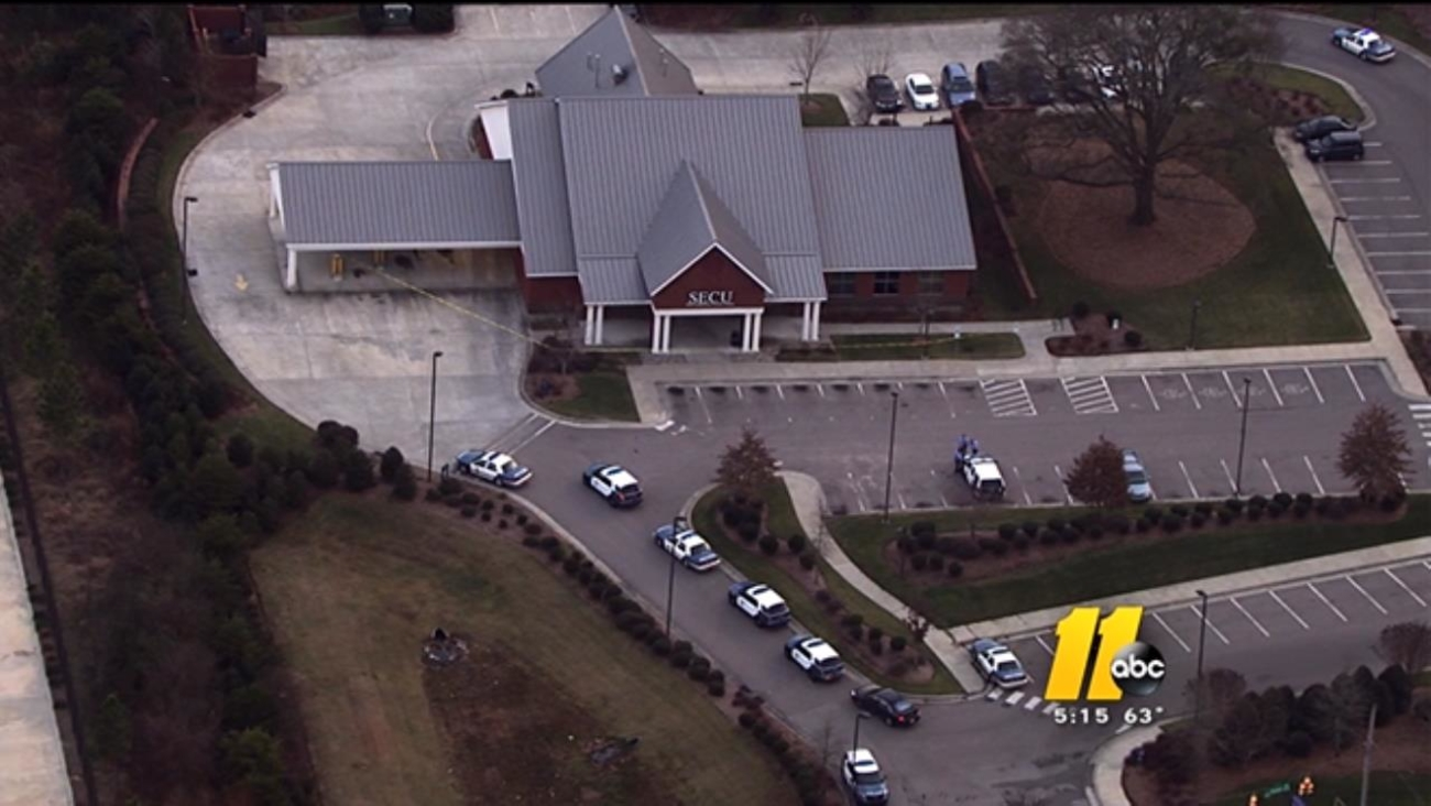 SECU robbery on Poole Road in Raleigh