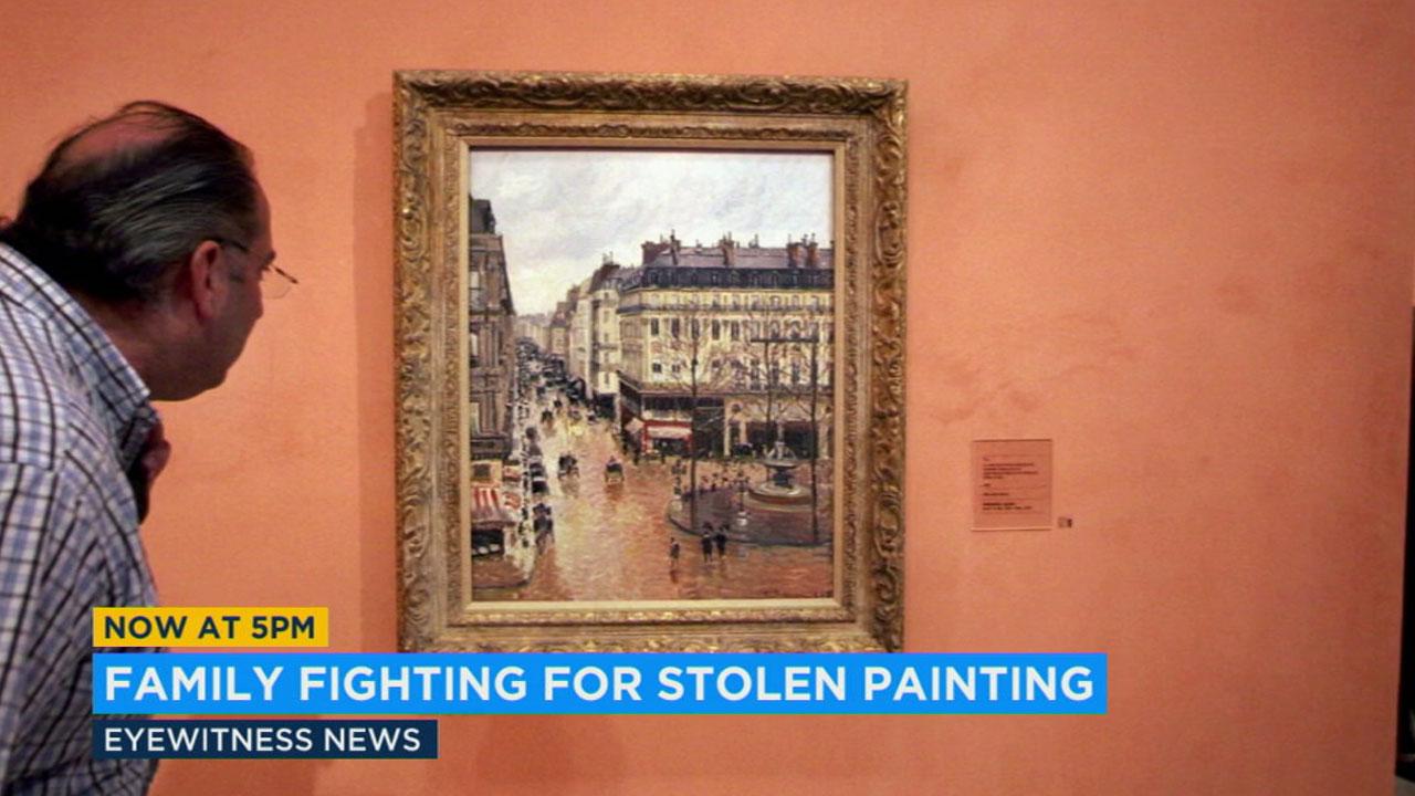 Valuable painting stolen by Nazis now at center of LA legal battle