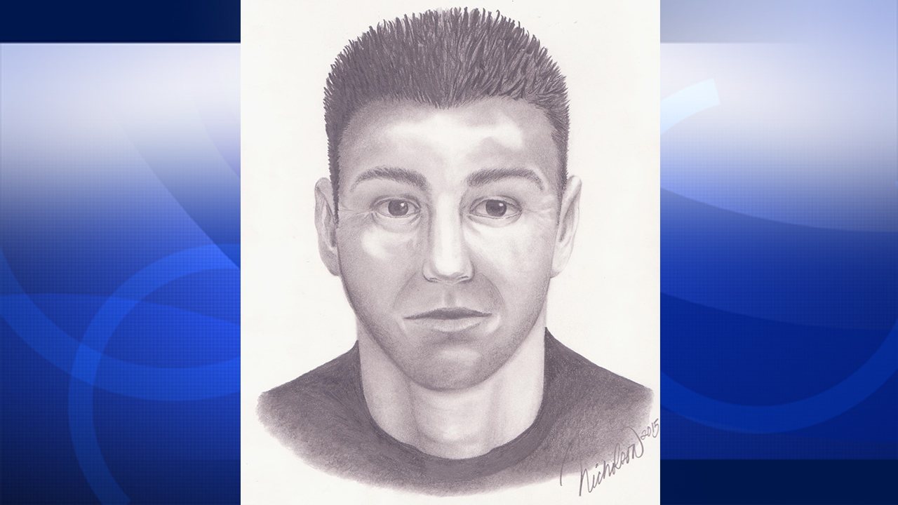 A composite sketch of a man suspected of exposing himself at Thousand Oaks and Westlaker village area parks.