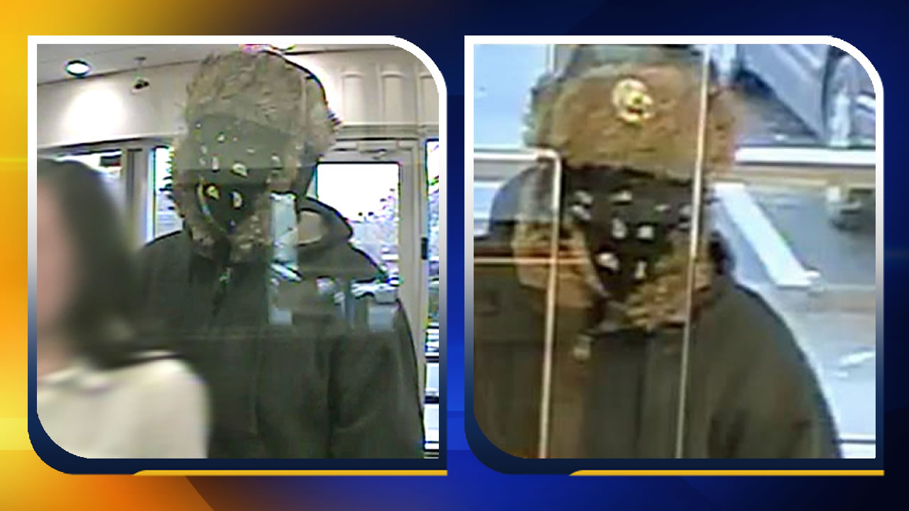 Jan. 14 bank robbery in Raleigh photos