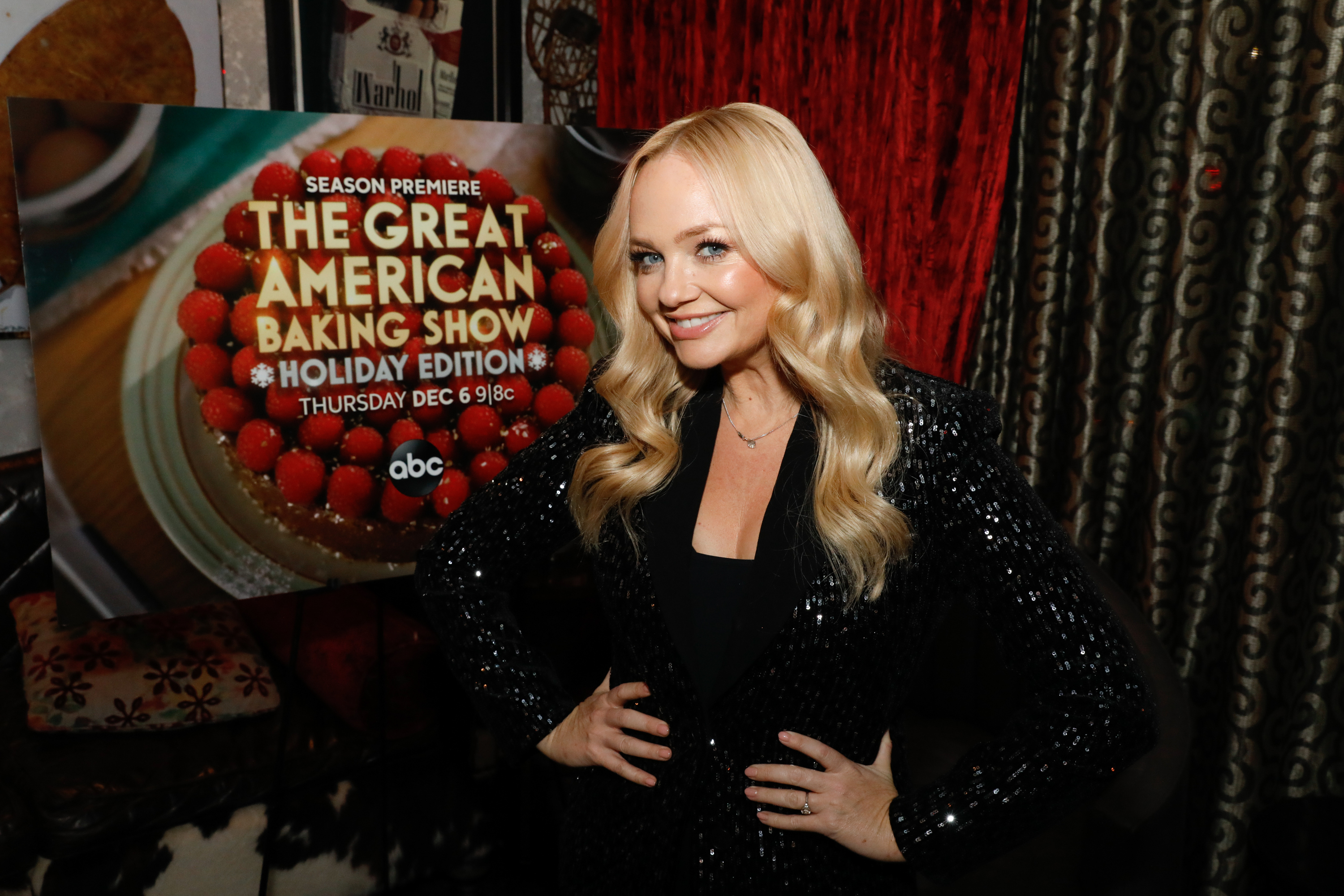 <div class='meta'><div class='origin-logo' data-origin='WABC'></div><span class='caption-text' data-credit='ABC/Heidi Gutman'>Sherry Yard and Emma Bunton of &#34;The Great American Baking Show Holiday Edition&#34; at a Special Screening of the Season Four Premiere Episode at the IPIC Theater in NYC, 12/3/18.</span></div>