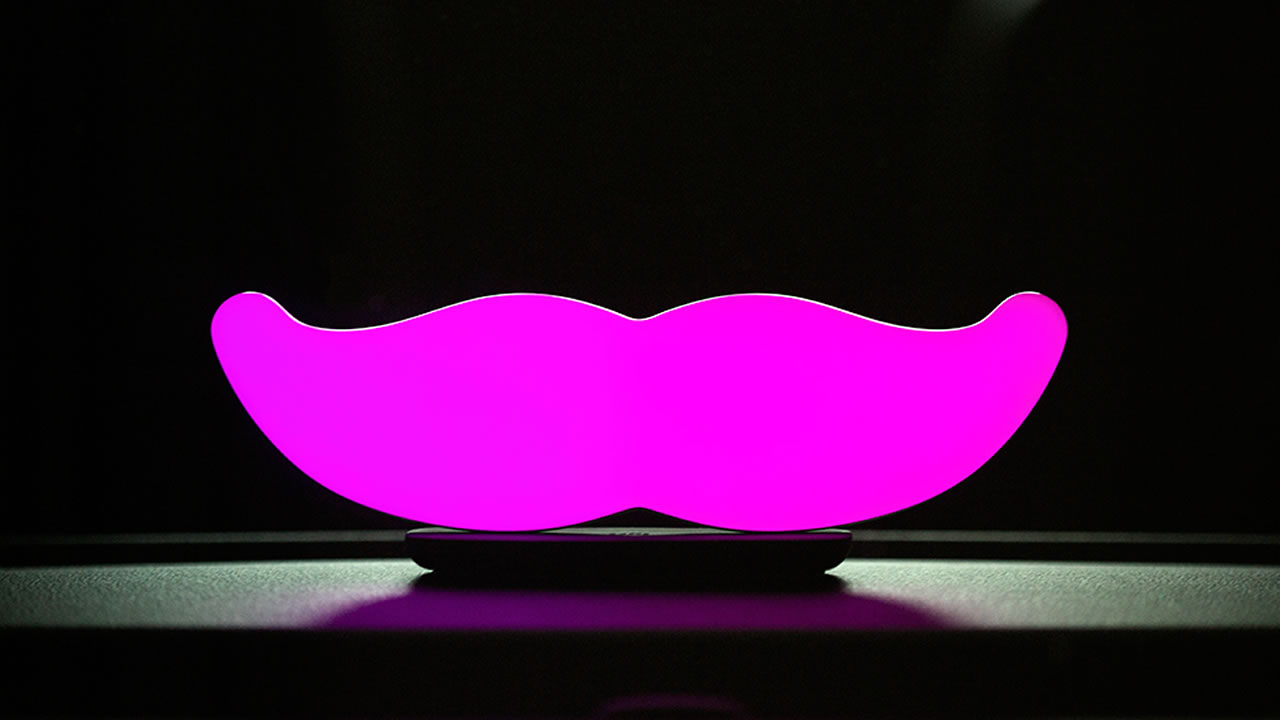 Lyft's new glowstache