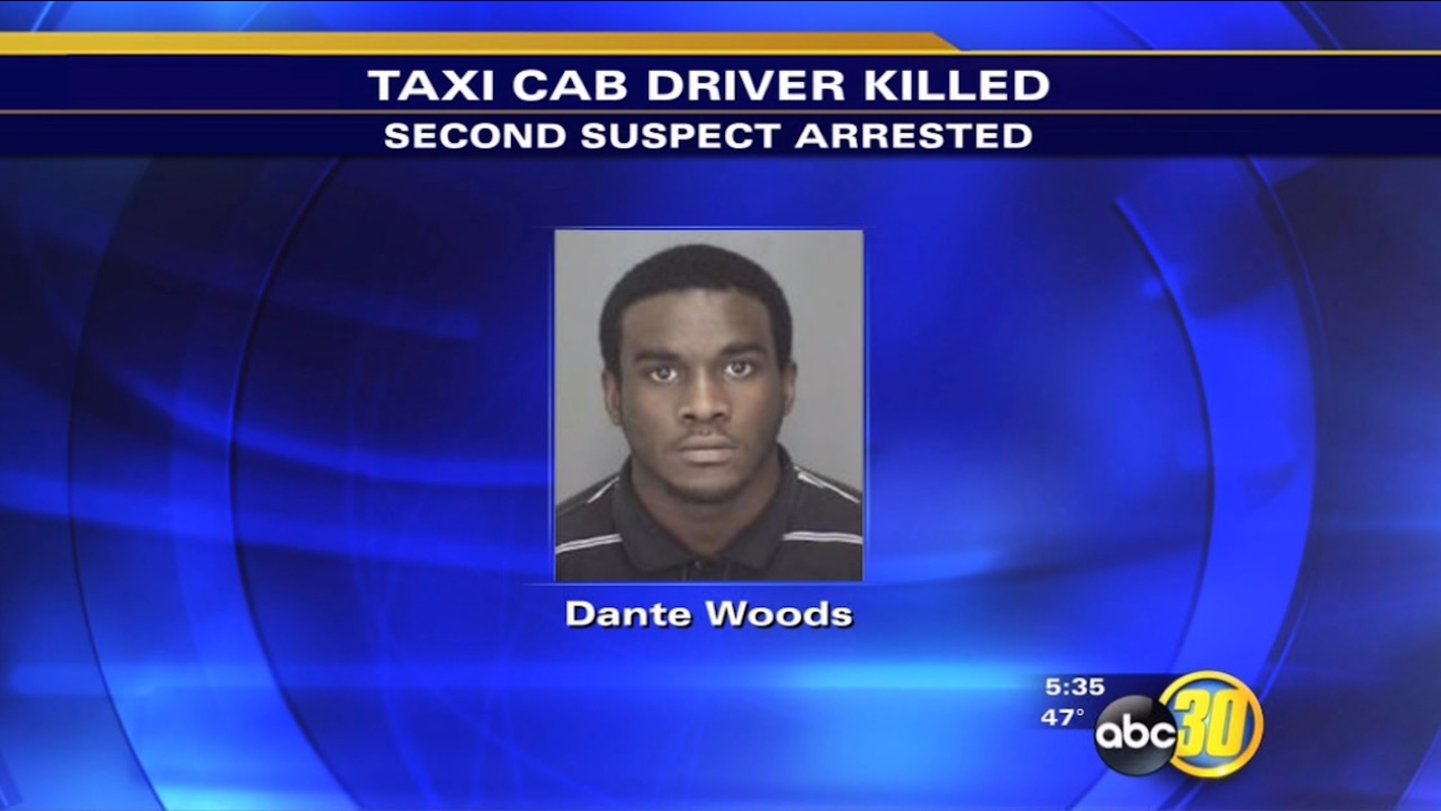 Dante Woods, 20, admitted to being in the taxi on January 5th when Dean Barker was shot, police said.