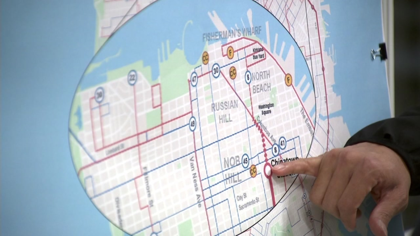 Central Subway Map.Sfmta Holds Community Meeting To Discuss Central Subway Project