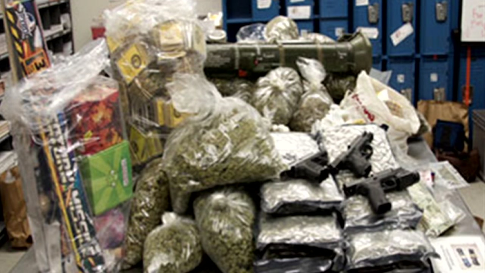 Rocket launcher, 800 pounds of pot seized in massive bust in San Jose