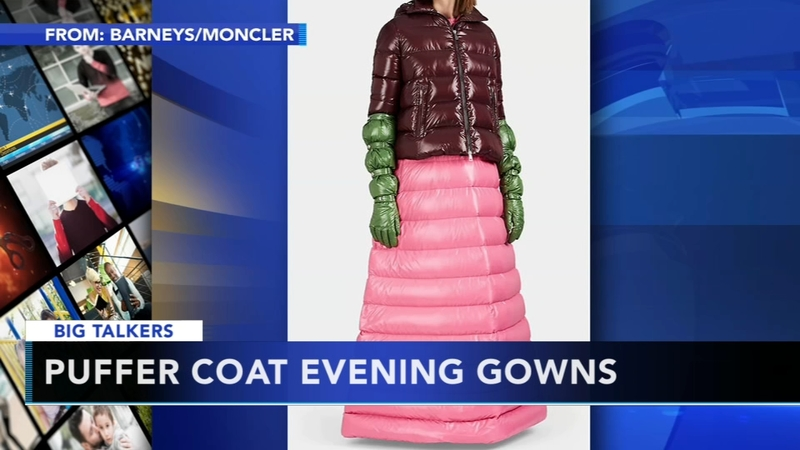 3cc57f614 Italian fashion brand Moncler unveils puffer coat evening gowns