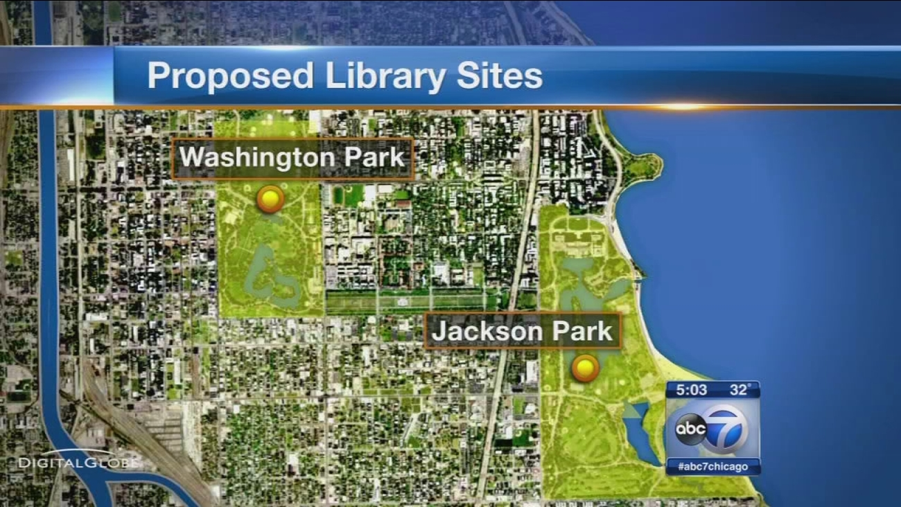 Mayor Emanuel gathers support for Obama Library