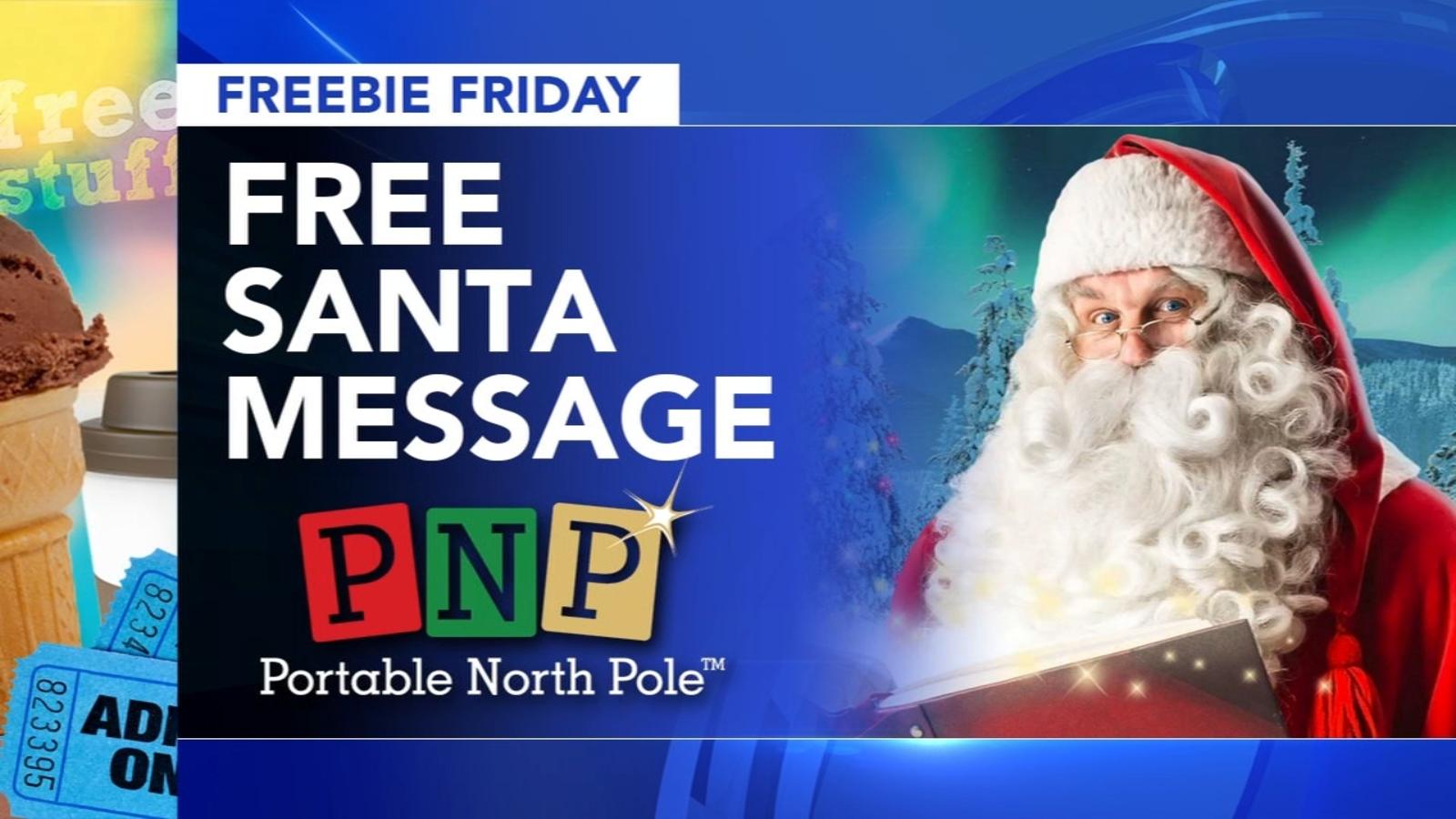 Pnp Santa Christmas Eve Message 2020 Freebie Friday: Pet photos with Santa, holiday sing along, pasta