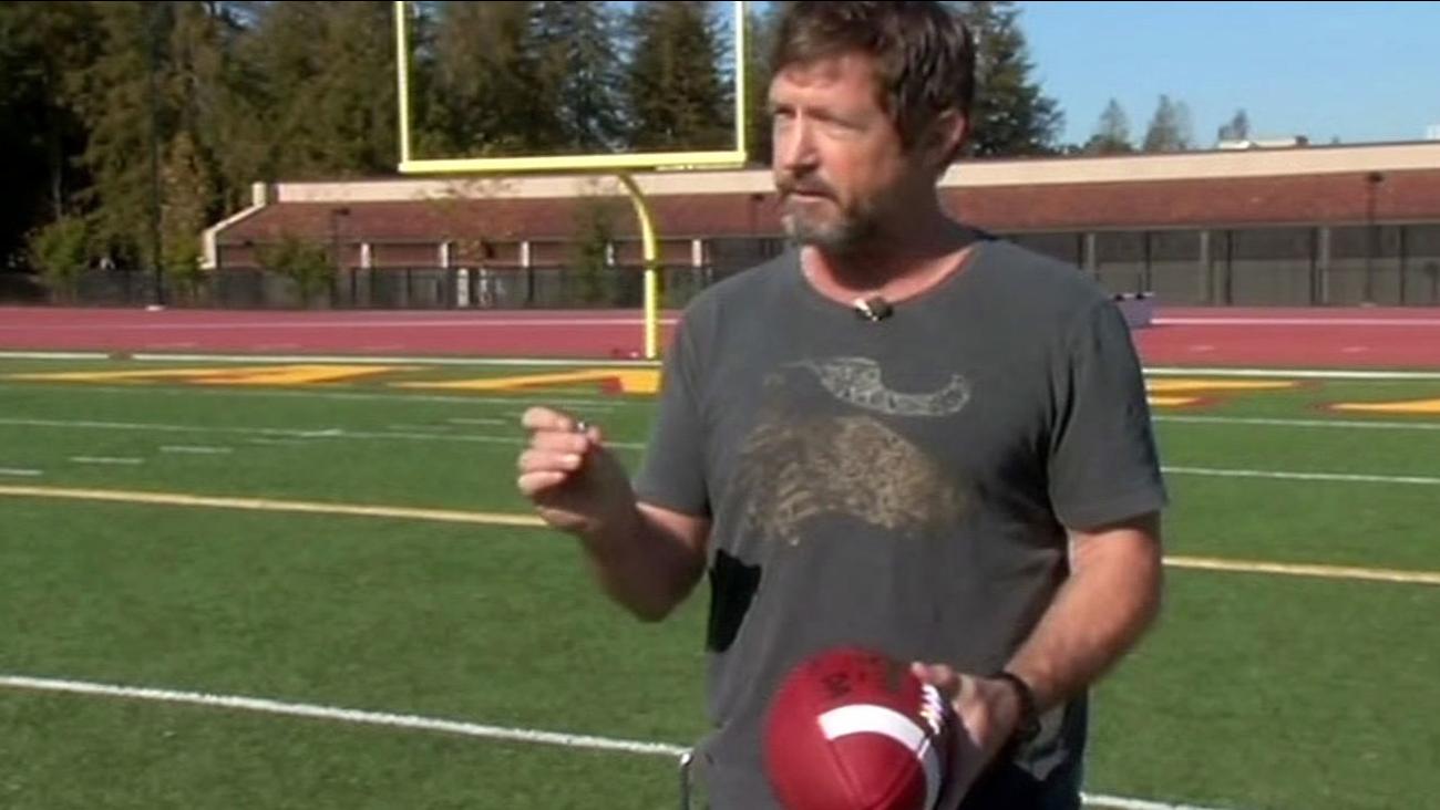 De Anza football equipment manager Pete Rabbitt