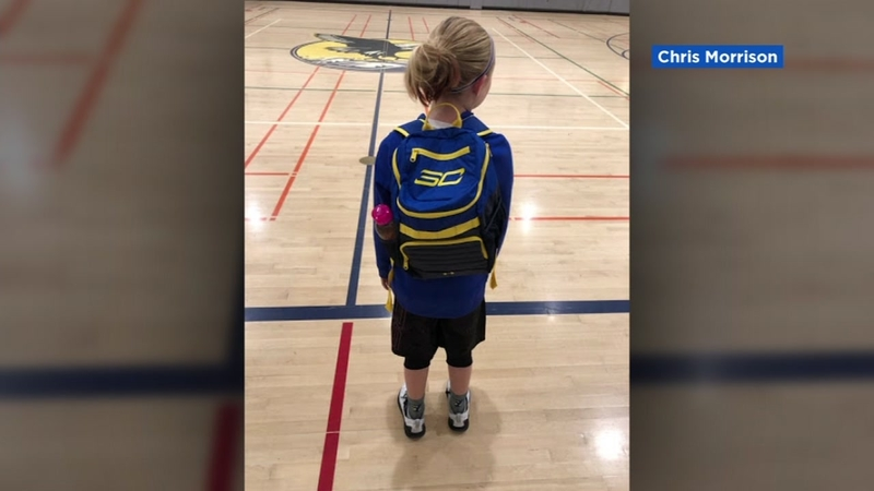 the latest 3f29e 36802 Company sends Napa girl gear after letter to Warriors star Steph Curry