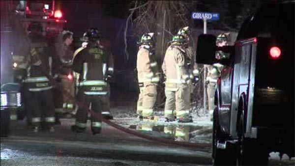 Family displaced in house blaze in Atco, N.J.