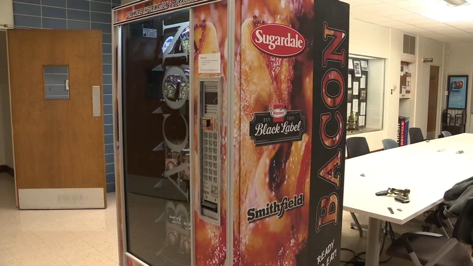 Comfort food? Ohio State University installs bacon vending machine