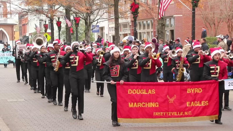 RECAP: Fayetteville Rotary Christmas Parade sponsored by LaFayette Ford