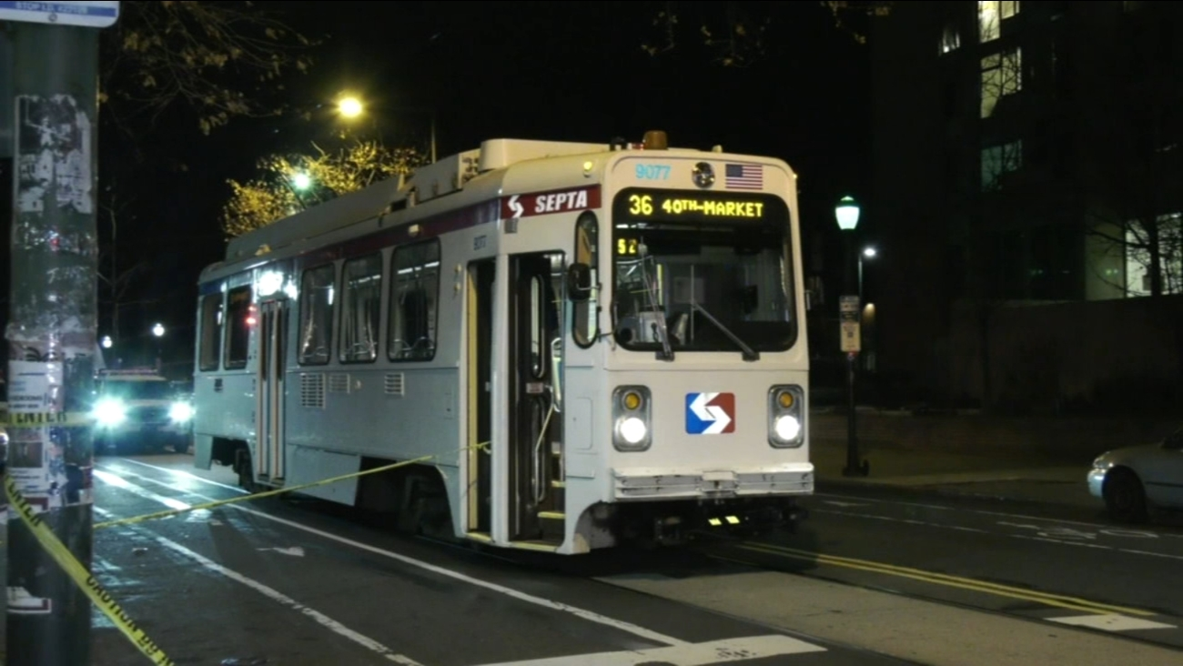 man hospitalized after stabbing on septa trolley | 6abc