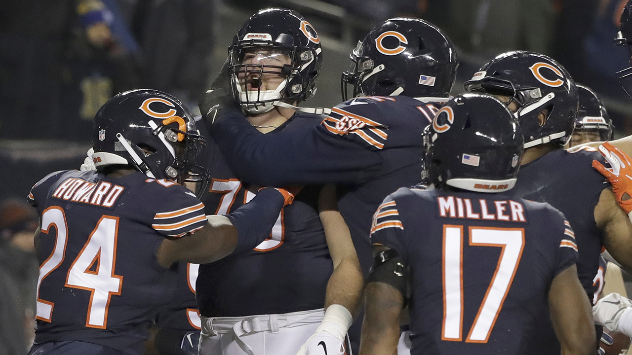 3bacccaad Chicago Bears clinch NFC North division, headed to playoffs ...