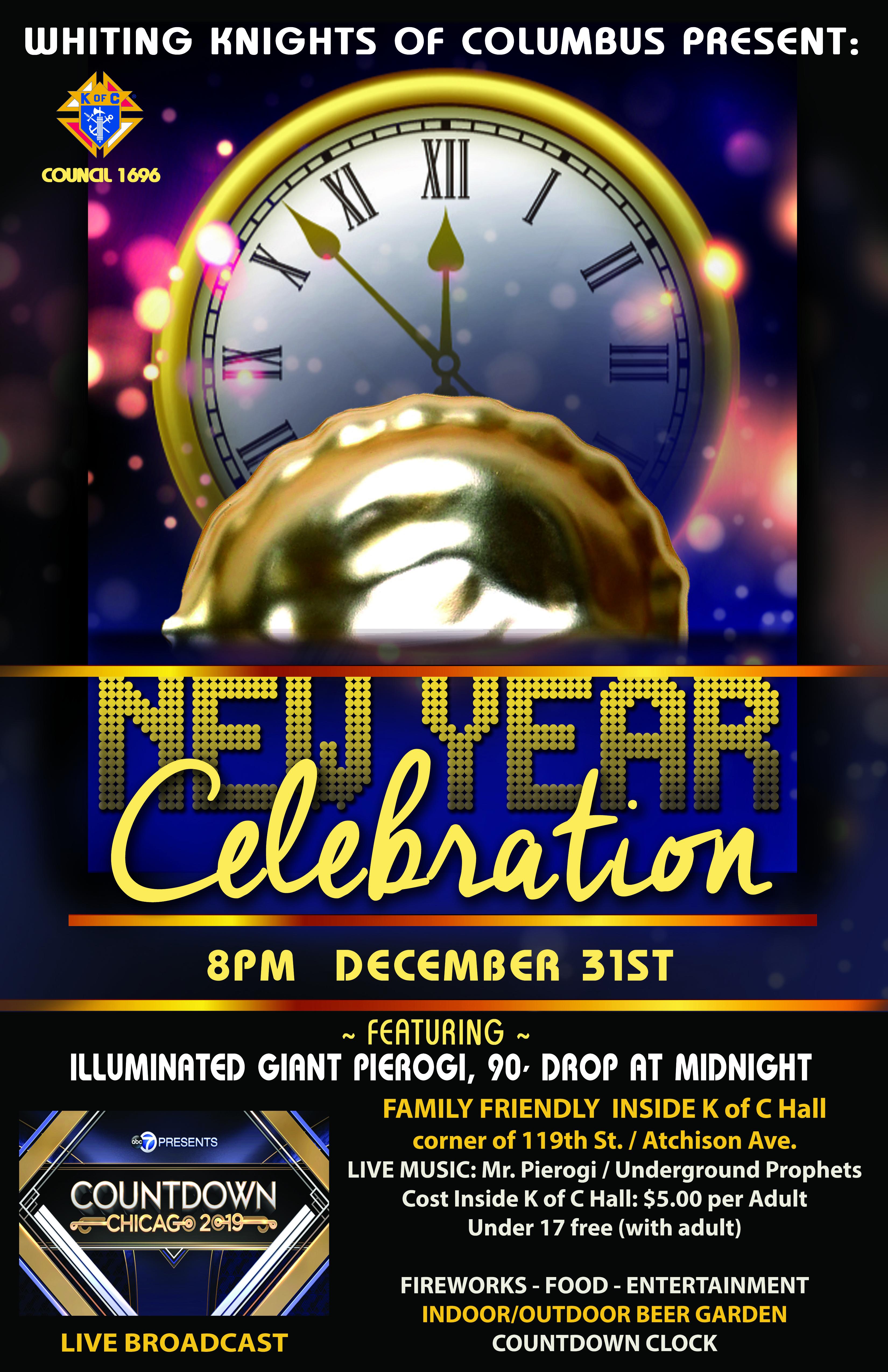 New years eve countdown clock video