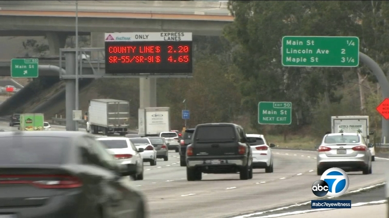 Busy 91 Fwy toll lanes bring in more than double revenue