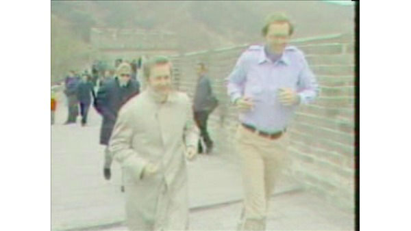 """<div class=""""meta image-caption""""><div class=""""origin-logo origin-image """"><span></span></div><span class=""""caption-text"""">Larry Stogner jogs with then-Governor Jim Hunt on the Great Wall of China in 1979. (WTVD Photo)</span></div>"""