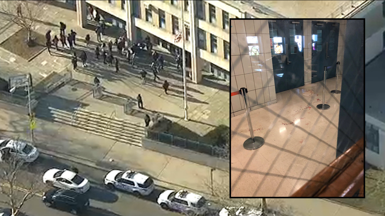 Image result for Student Slashed in the Head Inside NYC High School