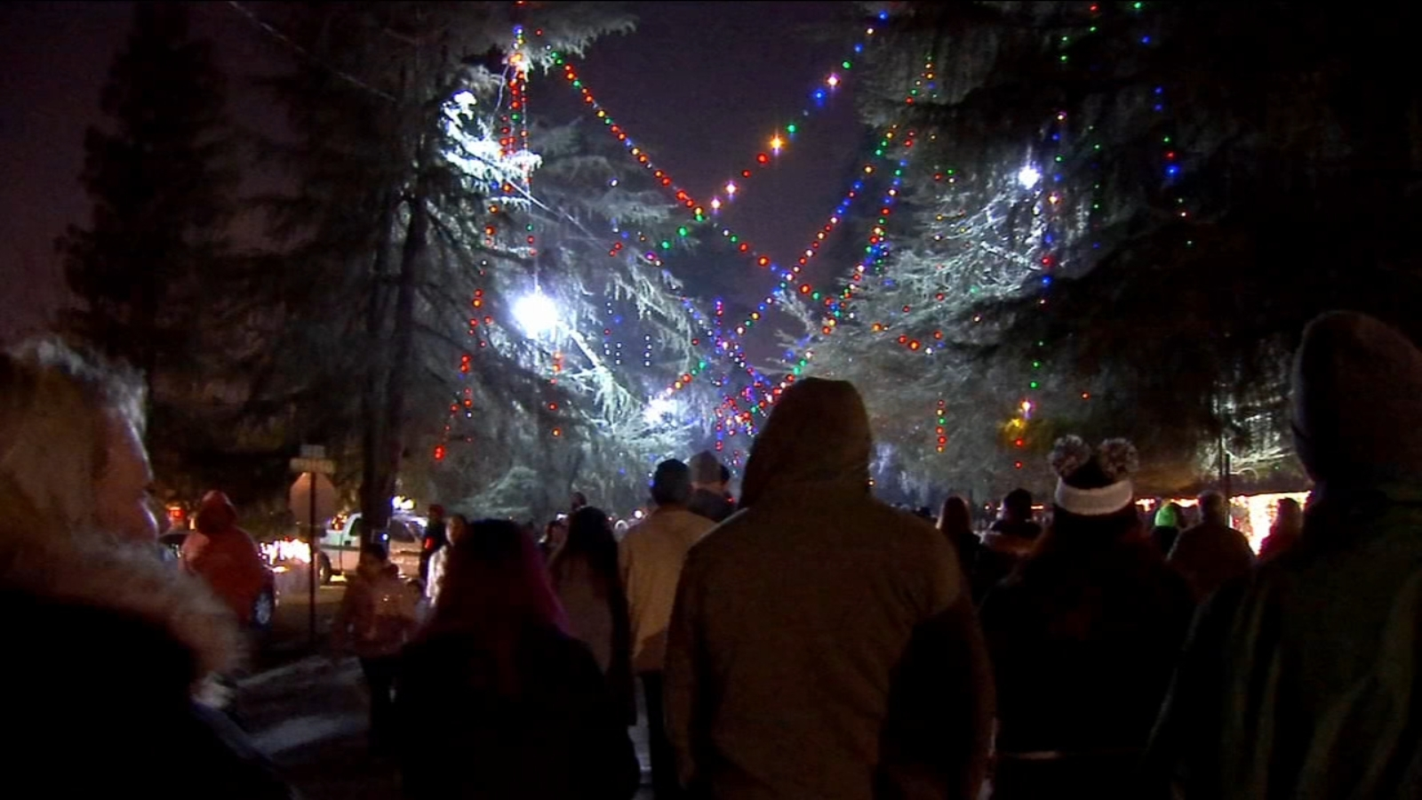 Family Doesn T Let Stolen Decorations Ruin Last Christmas Tree Lane