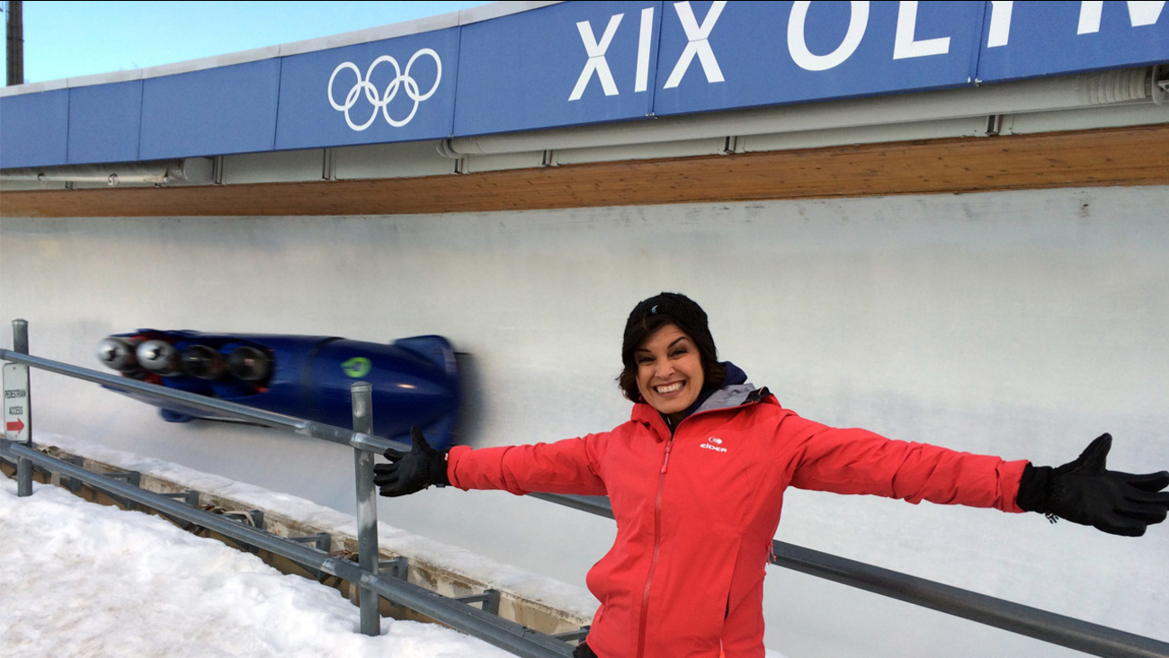 'Eye on L.A.' host Tina Malave checks out Utah Olympic Park.