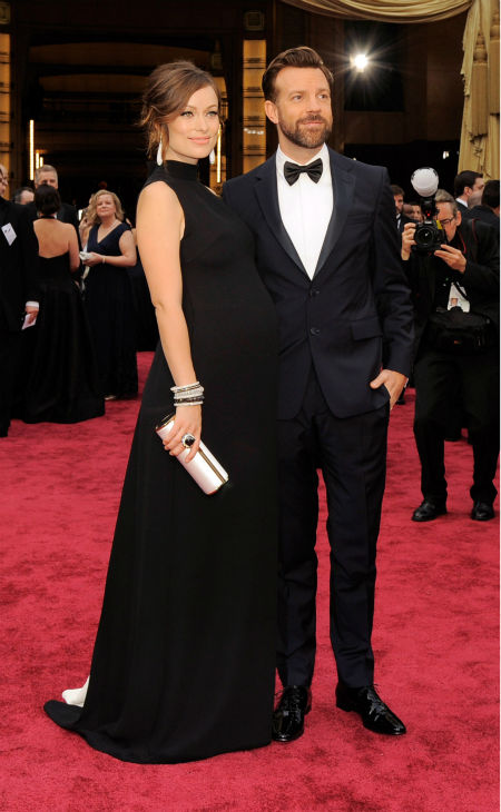 """<div class=""""meta image-caption""""><div class=""""origin-logo origin-image """"><span></span></div><span class=""""caption-text"""">Olivia Wilde: After she gave birth, the actress announced on Twitter, """"Ladies and gentlemen, Otis Alexander Sudeikis has LEFT the building! (I'm the building)"""" (Photo/Chris Pizzello)</span></div>"""