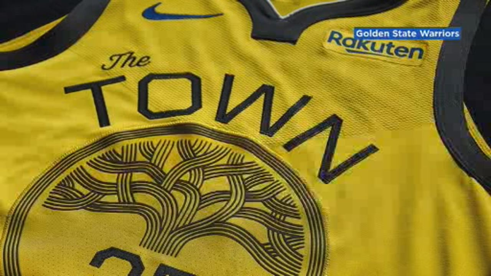 promo code ddf1d 07e3a Warriors unveil new 'Town Gold' jersey