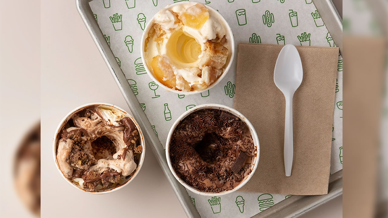 This undated image shows custards from Shake Shack.