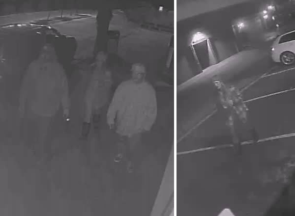 Ventura police are looking for these three people - two men and one women - who may have witnessed a homeless man being set on fire in Ventura on Jan. 17, 2015.