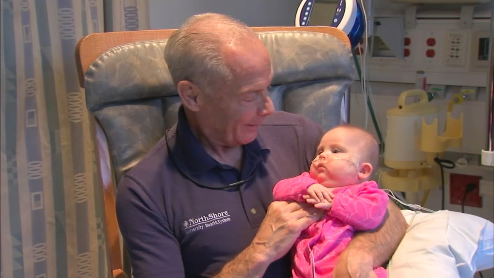 Evanston Hospital Welcomes First Male Baby Cuddler