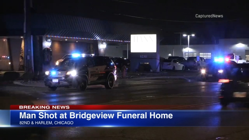 1 injured in Bridgeview funeral home shooting